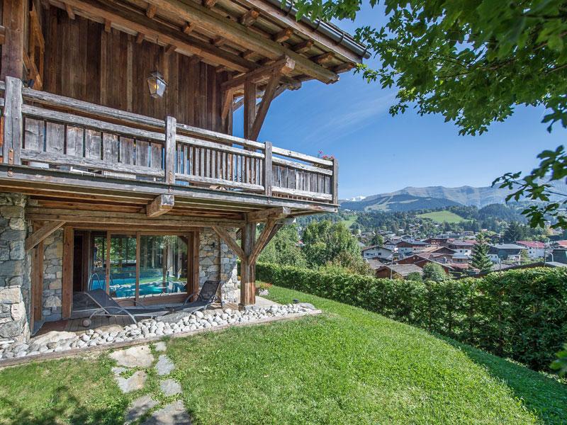 Location chalet meg ve 12 personnes ours blanc villas du monde - Cout piscine chauffee ...