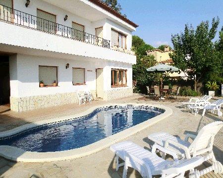 Location villa blanes 8 personnes afr821 - Villa a louer casa do dean ...