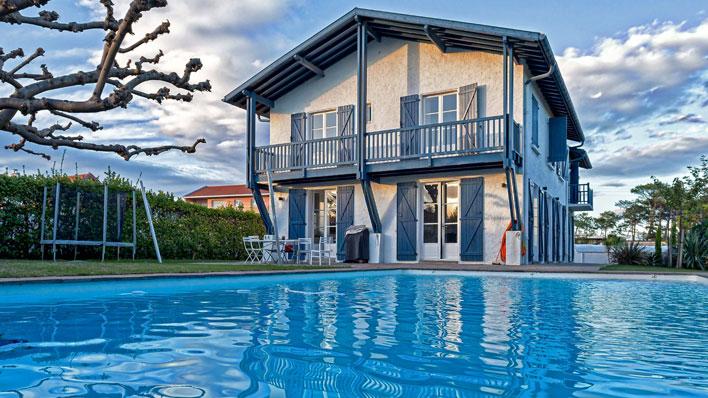 Villa / maison la grande près de la plage à louer à anglet