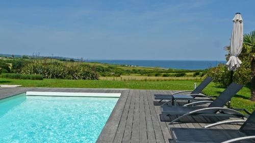 France : sj14 - Luxueuse et vue océan