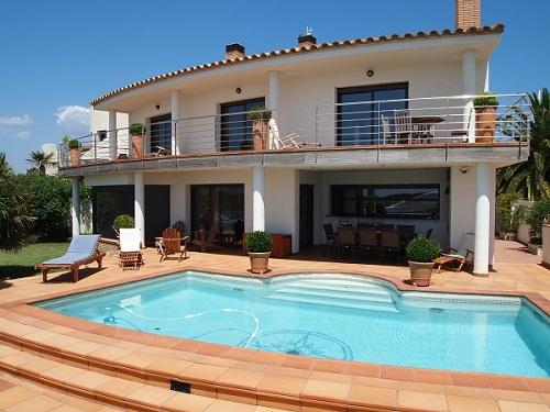Location villa roses 8 personnes bra802 - Maison location espagne avec piscine ...