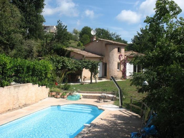 Villa / Haus Montagne et mer zu vermieten in La Gaude