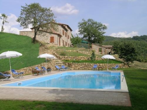 villa in Fabro, view : Countryside