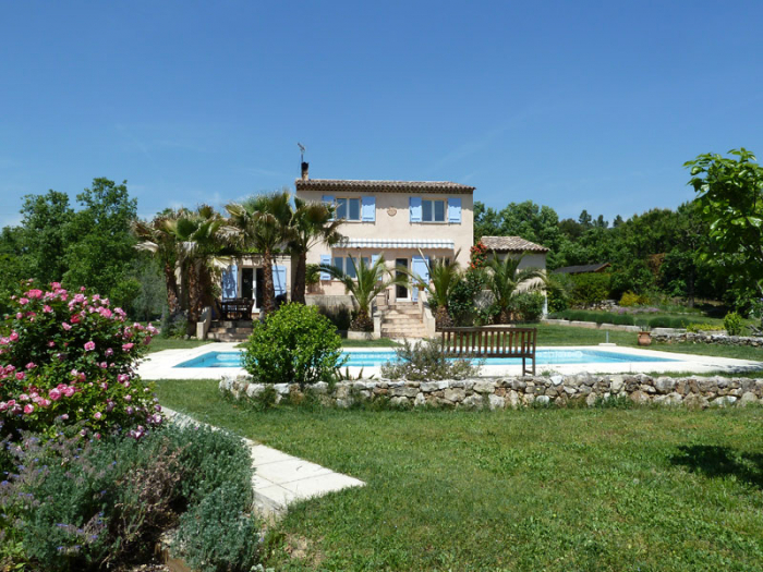 Villa / Haus Vieux oliviers zu vermieten in Saint Cezaire sur Siagne