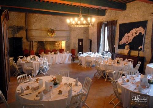 Château le château médiéval  valence d'agen