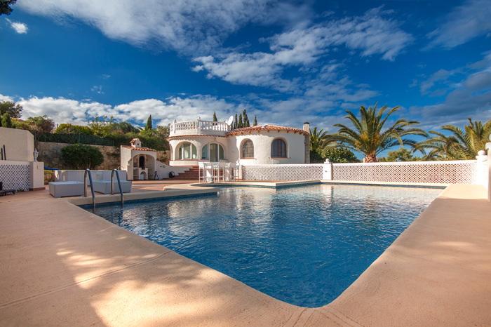 Villa / house vue mer et standing to rent in javea