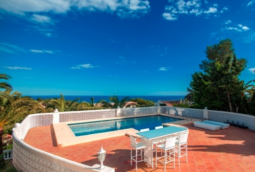villa in Javea, view : Sea