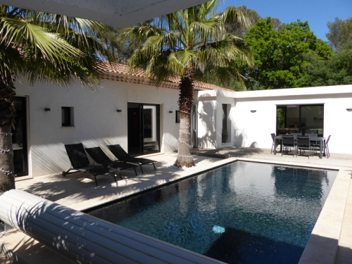 Villa / house les pins  to rent in cavalaire-sur-mer