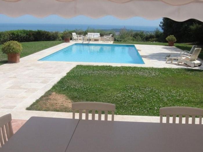 Villa / Haus Vue Cap d'Antibes zu vermieten in Vallauris