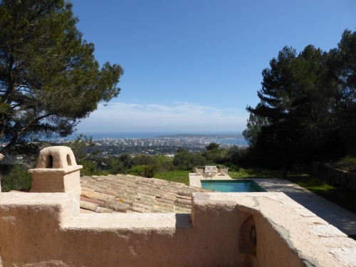 Location villa / maison vue cap d'antibes
