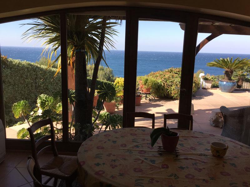 Villa / Haus Maison vue mer zu vermieten in Carqueiranne