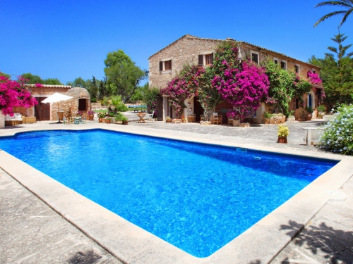 Villa / house Finca tennis to rent in Cas Concos