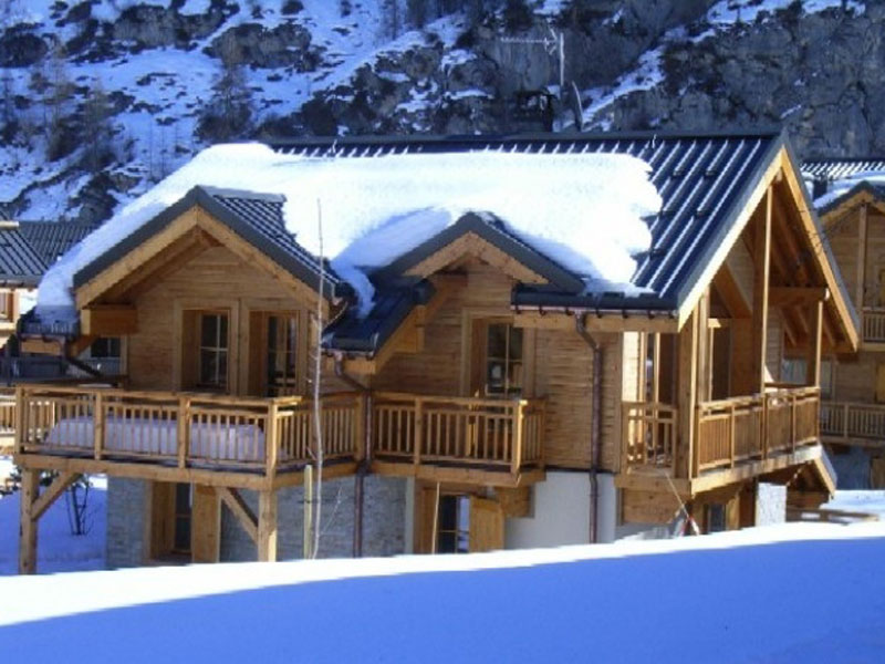 Reserve chalets traditionnelle
