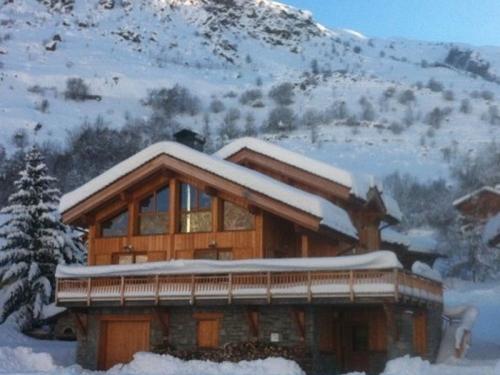 Chalet Directement accessible à ski à louer à Saint Martin de Belleville