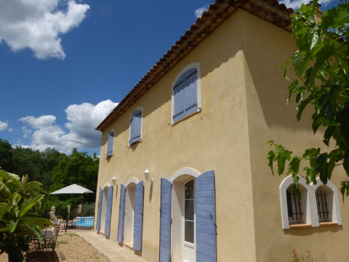Villa / house Vallée verte to rent in Cotignac