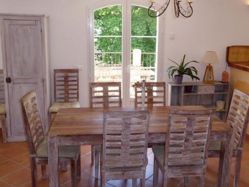 Villa / house vallée verte to rent in cotignac