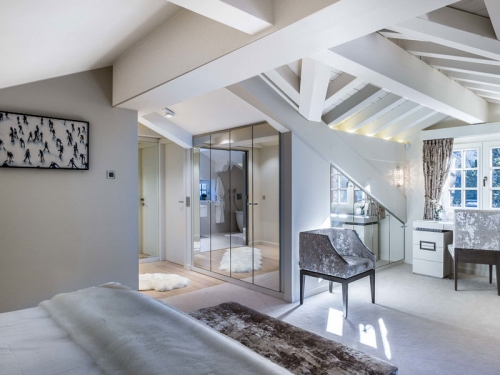 Chalet manchot to rent in courchevel 1650