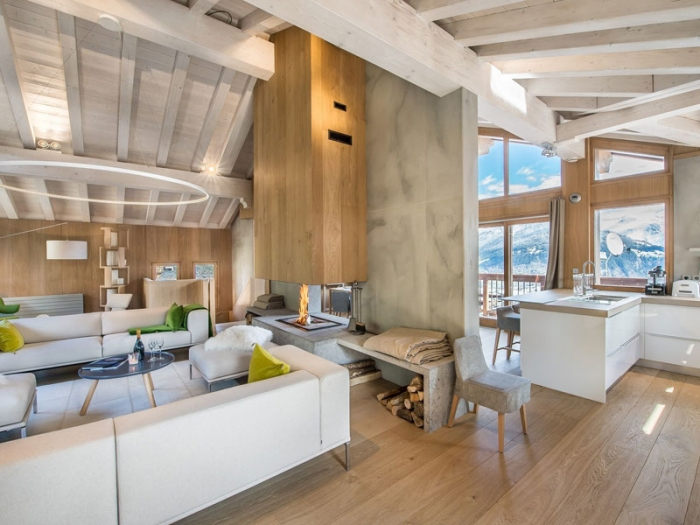 Chalet Sapphire to rent in Courchevel 1550