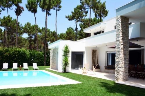 Villa / Maison Lisbonne exotique à louer à Aroeira