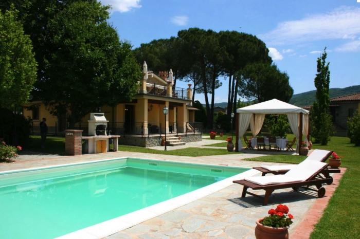 Villa / house La Cappucci to rent in Castiglion Fiorentino