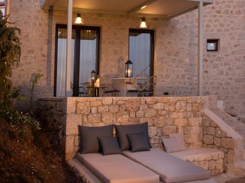 Location villa / maison À pied de la plage de stoupa