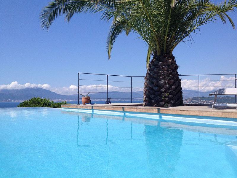 Réserver villa / maison vue golfe d'ajaccio