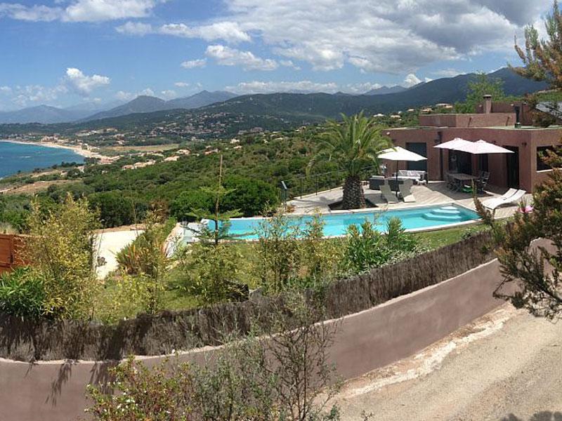 Location villa ajaccio 8 personnes ajx801 for Ajaccio location maison