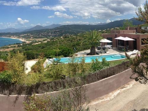 Location villa / maison vue golfe d'ajaccio