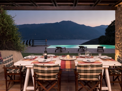 Rental villa / house skoutari baie