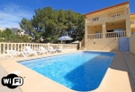 Villa / house Etoile to rent in Calpe