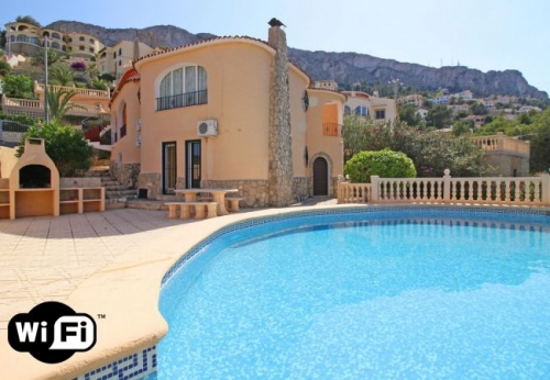 Villa / house ela to rent in calpe