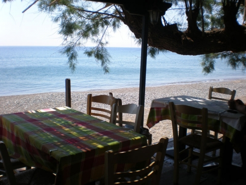 Villa / house champs d'oliviers et mer  to rent in volissos