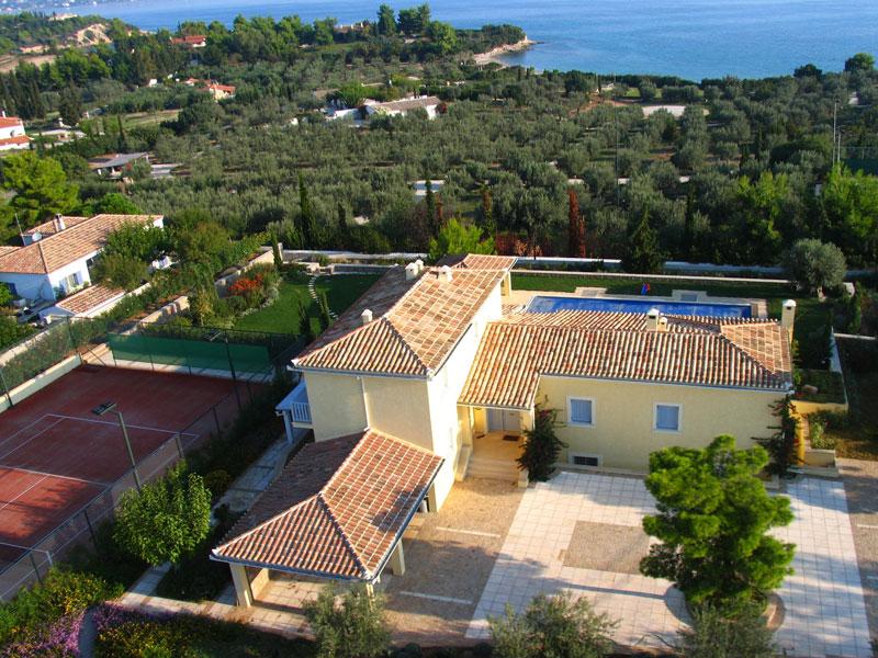 Location Villa Porto Heli 10 Personnes Phel1005
