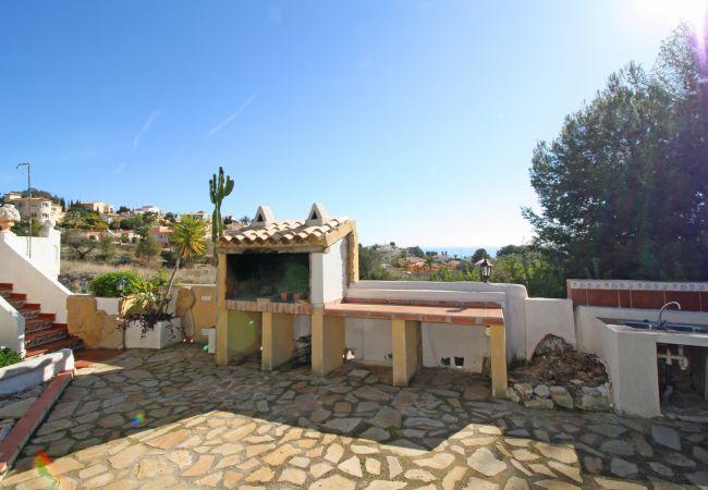 Villa / maison larios à louer à calpe