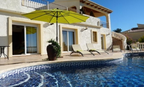 Villa / house Bellevue to rent in Altea
