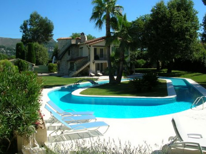 Villa / Maison Vence piscine spectaculaire à louer à Vence