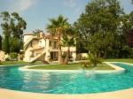 Location villa / maison vence piscine spectaculaire