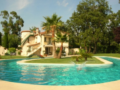 Rental villa / house vence piscine spectaculaire