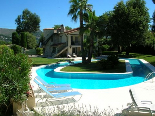 Villa / house Vence piscine spectaculaire to rent in Vence