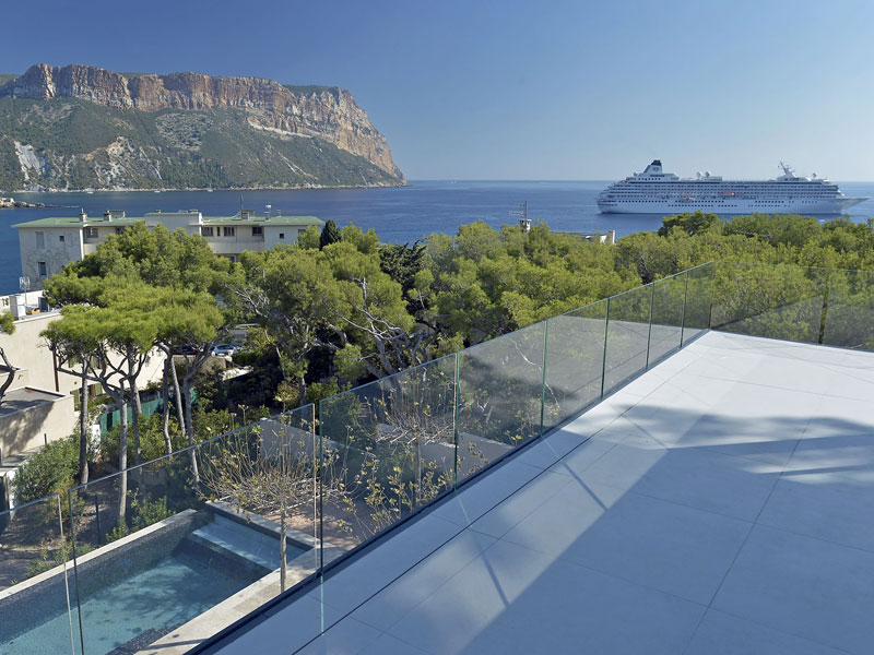 Location villa cassis 18 personnes cas1801 for Location grande villa
