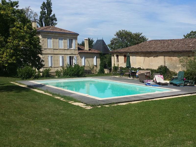 Château Chateau coeur de vignobles à louer à Bordeaux