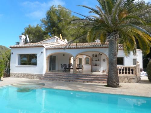 Reserve villa / house suerte
