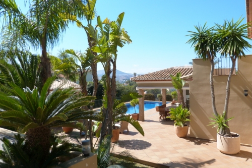 villa in Javea, view : Sea and mountains