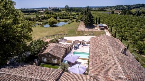 Villa à Montélimar , Vue : Campagne