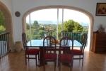 Villa / maison vue mer et baie de javea à louer à javea