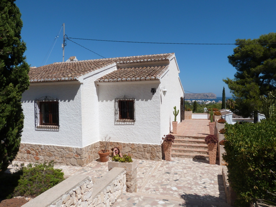 Holiday rentals view countryside and sea