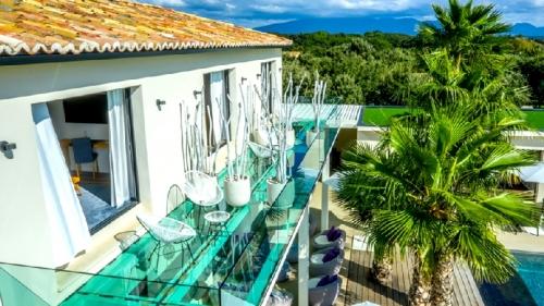 villa / maison contemporaine luxe en drome provencale