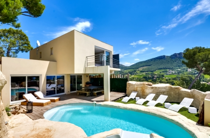 Villa / Haus A pied de Cassis centre zu vermieten in Cassis