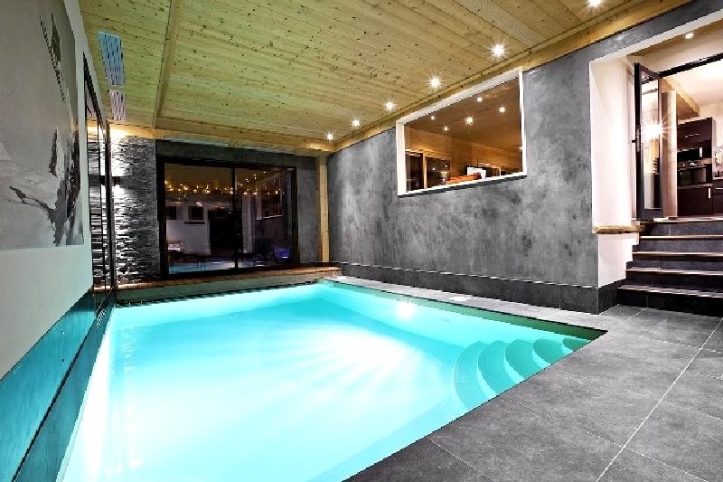 Location chalet piscine privé 1550
