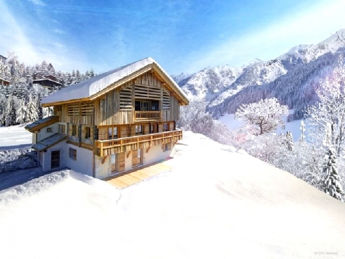 Chalet Thelxinoe to rent in La Clusaz